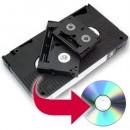 VHS, VHS-C, Mini DV, HI-8, to DVD
