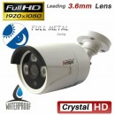 Bullet, full metal, water proof 2 mb bnc camera , ZH803-200HOSD