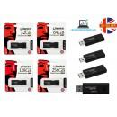 Kingston DataTraveler 100 G3 GB USB 3.0 Flash Drive - Black - 5 Year Warranty