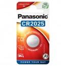 Panasonic Lithium Battery CR2025 3V 1-Pack