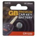 GB Premium Car Key Battery CA10 CR1220 3V
