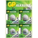 4x GP Batteries A76 LR44 V13GA Alkaline 1.5V Button Cell Batteries