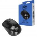 Evo Labs MO-234WBLK Wireless Gloss Black Mouse