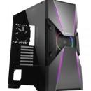 Antec Dark Avenger DA601 Full Tower 2 x USB 3.0 Tempered Glass Side Window Panel Black & Gunmetal Case with Addressable RGB LED Fan and Light Strips