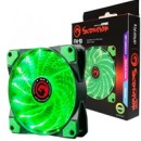 Marvo Scorpion FN-10 Green 120mm 1200RPM Green LED Fan