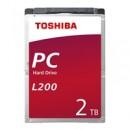 Toshiba L200 HDWL120UZSVA 2TB SATA IIl 5400RPM 2.5 Inch 9.5mm Internal Hard Drive