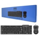 Evo Labs CM-500UK USB Keyboard & Mouse Set