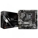 ASRock B450M Pro4 AMD Socket AM4 Micro ATX VGA/DVI-D/HDMI DDR4 USB C 3.1 Motherboard