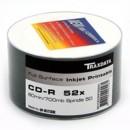 Ritek Traxdata CD-R 52X 50PK FULL FACE PRINT