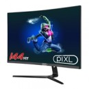 """piXL 27"""" 144Hz/ 165Hz Curved HDR G-Sync Compatible 5ms Frameless Gaming Monitor with FreeSync, DisplayPort & HDMI"""