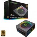 GameMax RGB 750W 140mm Ultra Silent RGB Ring Fan 80 PLUS Gold Fully Modular PSU