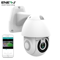 ENER-J Smart Wifi IP Outdoor Dome Camera IP65